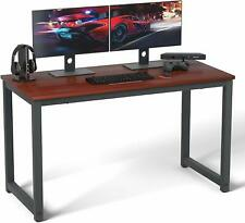 "Computer Desk 47"" Modern Sturdy Office Desk Study Writing Desk for Home Office,"