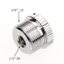CAMVATE 5/8-Inch Male to 1/4-Inch Female Mic Screw Adapter Fr Mic Micphone Stand