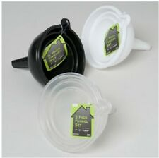 *US Seller* 3 pieces Plastic Funnels Fast Shipping