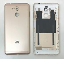 New Huawei Enjoy 6S Rear Housing Metal Back Battery Door Cover With Buttons Gold