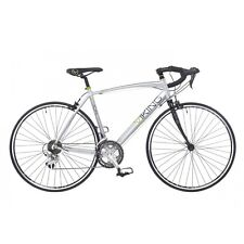 VIKING VUELTA MENS ROAD RACING BIKE 700C WHEEL 14 SPEED ALLOY 53CM FRAME SILVER