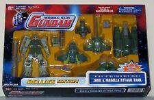 BANDAI 2001 MOBILE SUIT GUNDAM ZAKU & MAGELLA ATTACK TANK DELUXE EDITION MIB