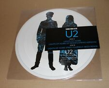 "U2 - LIGHTS OF HOME - 12"" PICTURE DISC WHITE VINYL LIMITED RSD 2018"