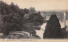 SAUMUR MAINE-ET-LOIRE FRANCE~LE JARDIN PLANTES~L L LEVY FILS PUBLISHED POSTCARD