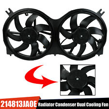 Radiator Condenser Dual Cooling Fan Assembly Fit Pathfinder Infiniti Jx35 Qx60