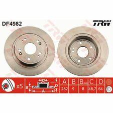 Bremsscheibe, 1 Stück TRW DF4982