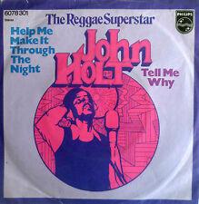 "7"" 1974 VG+ JOHN HOLT Help Me Kake It Through The Night"