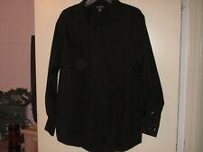 Men's GEORGE Black Dress Shirt (15-15 1/2 M)