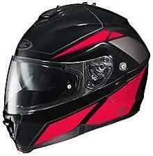 HJC IS-MAX II Elemental MC-1 Modular Motorcycle Helmet *SM* Black/Red