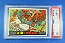 """1962 Topps Bubbles - Mars Attacks - #30 """"Trapped!!"""" - PSA NM 7"""