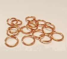 Solid Copper Jump Ring 18Ga Wire 5 MM O/D (pkg. of 350/ 1 Oz Saw-Cut Made In USA