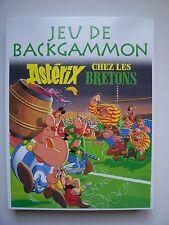 """Jeu de Société """" Jeu de Backgammon  """" ASTERIX """" Chez les Bretons """" avec Pins"""
