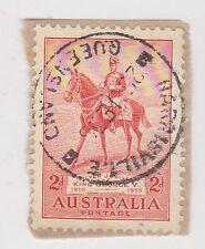 (JE-284) 1935 AU 2d Jubilee P/O cancel Harris Vale (S)