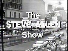 STEVE ALLEN SHOW INC ELVIS LARGEST AVAILABLE & BEST VALUE  OFFERED VOLS 1,2,3,4