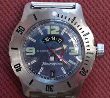 Wrist Automatic Watch VOSTOK KOMANDIRSKIE Commander Military 350604