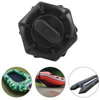 Durable PVC Black Drain Valve For Inflatable Boats Fishing Boat Kayak Accessory