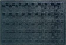 24x36 Recycled Rubber Textured Commercial Door Mat Weather Resistant Low Profile