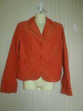 Tommy Hilfiger size med orange colored cord jacket