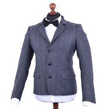 Drei-Knopf Einreiher-Herrenanzüge aus Wolle mit regular Länge