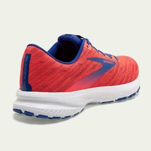 Brooks Launch Running Shoes Womens Ladies Neutral Cushioning Coral UK 8 EUR 42