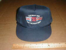 New VTG 1990 The Right Time Diet Pepsi Cola Soda Trucker Strapback Hat promo