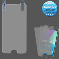For Samsung Galaxy J3 Emerge/J3 2017 Clear Screen Protector Film Twin Pack