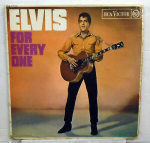 1965   Elvis For Every One  RCA red dot vinyl LP RD 7752   MONO