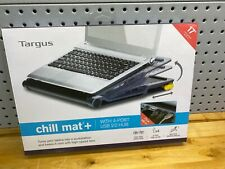 Targus Chill Mat+ Laptop Cooling System with 4-Port USB Hub, Gray, Free shipping