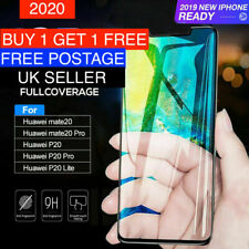 For Huawei P20 Pro P30 P20 Tempered Glass Screen Protector Premium Protection