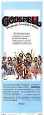 GODSPELL Movie POSTER 14x36 Insert Victor Garber David Haskell Jerry Sroka Lynne
