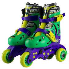 Teenage Mutant Ninja Turtles Kids 2 In 1 Convertible Inline Skates Ages 3-6 New