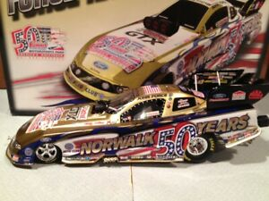 2013 Action John Force Summit Motorsports Park 50th Anniversary NHRA 1/24 Liquid