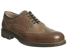 Mens Ask the Missus Tan Leather Lace Up Casual Shoes UK Size 10 *Ex Display