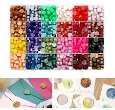 More details for 200~600 sealing wax beads 10~24 pre-sorted hot colors for letter stamps wedding