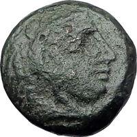 ALEXANDER III the Great 325BC Macedonia Ancient Greek Coin HERCULES CLUB i61368