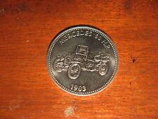 1903 MERCEDES 60 CV Motorcar SHELL TOKEN COIN