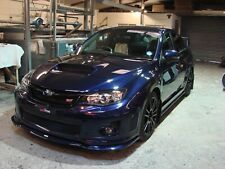 Subaru STi WRX Low Line Body Kit,lips,splitter,side skirt SEDAN 2011. HT Autos.
