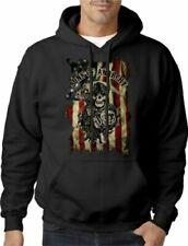 Biker Black Hoodies & Sweatshirts for Men