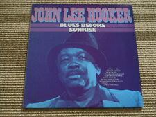 John Lee Hooker Blues before Sunrise - LP - washed /gewaschen (Ex)