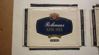 OLD EMPTY CIGARETTE PACKET LABEL FROM AUSTRALIA, ROTHMANS KING SIZE FILTER 25 1