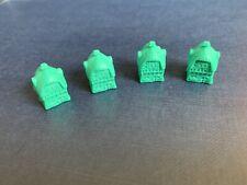 Disney Monopoly White Rabbit Cottages Set of 4