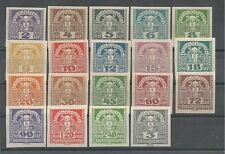 Österreich 1920/1921 Zeitungsmarken komplett  **