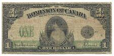 Canada - Scarce 1 Dollar Note - 1917 - P32e - VG+