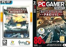 battlestations pacific & battle stations midway   new&sealed