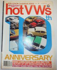 Dunebuggies And Hot VWs Magazine 10th Anniversary December 1977 121814R