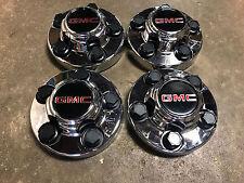 GMC 5 LUG SAVANA SIERRA VAN TRUCK CHROME CENTER CAPS CAP GM WHEEL RIM