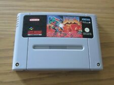 DOOM SUPER NINTENDO / SNES GAME