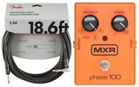 MXR M107 Phase 100 Effects Pedal 10 Stages Of Programmable Phase ( FENDER 18FT )