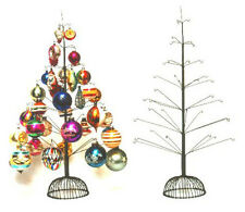 40 Ornament Wire Christmas Tree ~