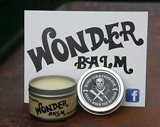 BEARD COMMANDER WONDER BALM Pipe Tobacco Scent Beard Conditioner Barber Shop